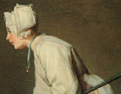 Chardin, Scullery Maid, 1738, Corcoran Gallery