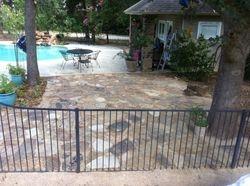Flagstone patio in Arlington, TX