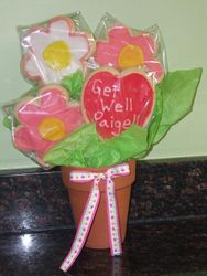 4 Cookie Bouquet (Get Well)