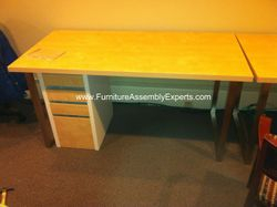 ikea vika amon table installation service in Herndon VA