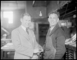 Clarence Demar meets Charley - A