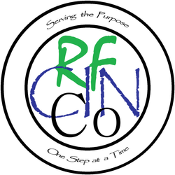 RFCINCo Badge w/slogan (wht)