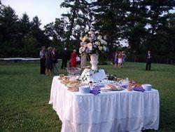 Late Spring Wedding Reception