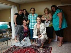 Reiki class in Medicine Hat July 2012