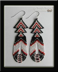 Beaded Arrowheads