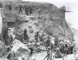 The Norman Cliffs, France 1944: