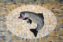 Tile Fish Mural