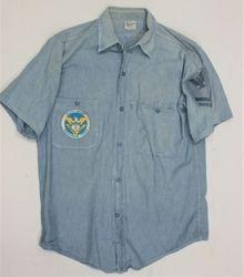 USCG Sq.3, PO-2 Blue Shirt RVN: