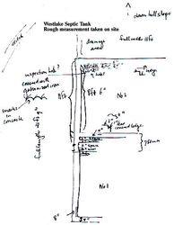 Diagram septic tank Westlake