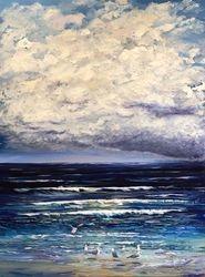 Storm over Surf Beach