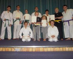 Group picture after a grading, 2013