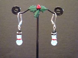 Swarovski Crystal Snowmen (Item #3006)  $10.00