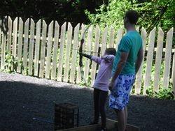 Archery with Rebecca