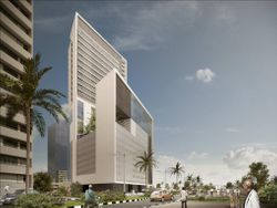 Guest House Tower - 110m Height in Lagos - NIGERIA