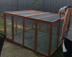 Fully Enclosed to keep out predators