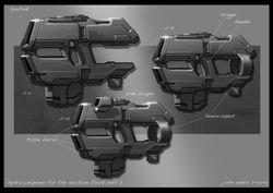 Hydra weapon #2-3-4