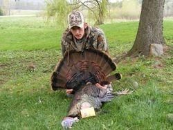 Field Staff Member  Brandon Teeple's 1st bird of the '08 season.