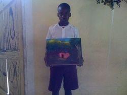 Un jeune artiste se manifeste