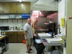Yuri the chef and Janice's husband!