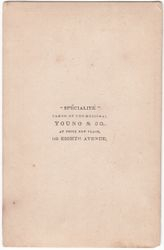 Young & Co., photographer of New York, NY - back