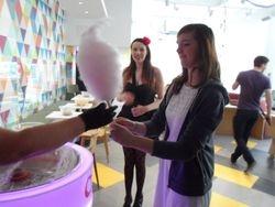 Candy floss machine hire university of huddersfield aspley house prodigy living