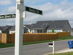 Residential Street Signs
