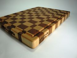 Cherry, Maple End-Grain Cutting Board
