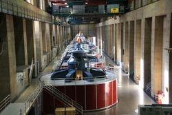 Generators at Hoover Dam