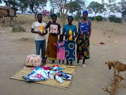 Clothes/toys received