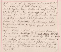 Property Deed from Philip A. Norris to Jackson Fisher - Page 3