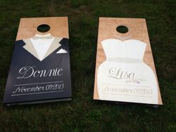 Wedding Cornhole Set