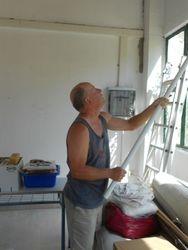 Phil lending a hand