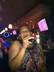 Trish singing with Done Right Entertainment for the first time at 502 Bar Lounge's Social Saturday Night Karaoke!