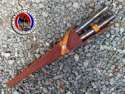 Custom Made Dual Ceremonial Knife #1