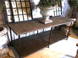 #17/384 Metal 2 Level Table SOLD