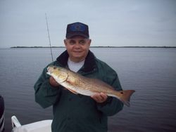 Carlos with a 24 1/2 Redfish