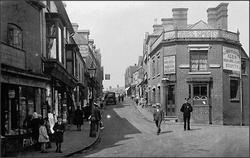 High Street, Halesowen. c1920s.