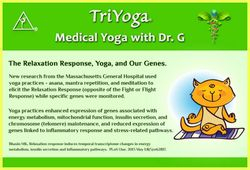 The Relaxation Response, Yoga and our Genes