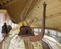 Giza : Funereal Boat of Khufu