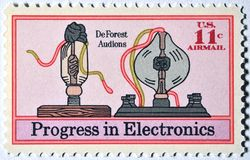 11 Cent Air mial Stamp