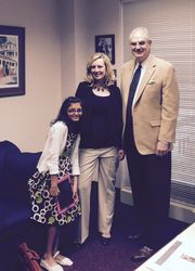 FAASB Exec. Director Kim Ross and Rep. Costello