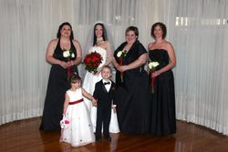 Bride and Attendants