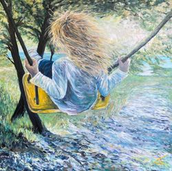 Girl on a swing (SOLGT)