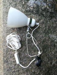 Prisegama skardine lempa. Kaina 22