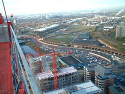 Manchester from above