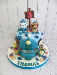 Thomas's 3rd Birthday Cake