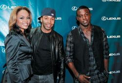 Demetria McKinney, Allen Payne & Lance Gross At The **Lexus Treated VIPs To A Private Screening Of Chris Rock?s Good Hair**