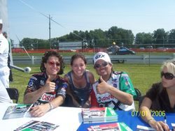 2006 - Eric Medlen and John Force (me too!)