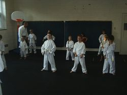 Little Tigers Receive Instruction