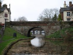 The Navigation at the bridge in Gnosall